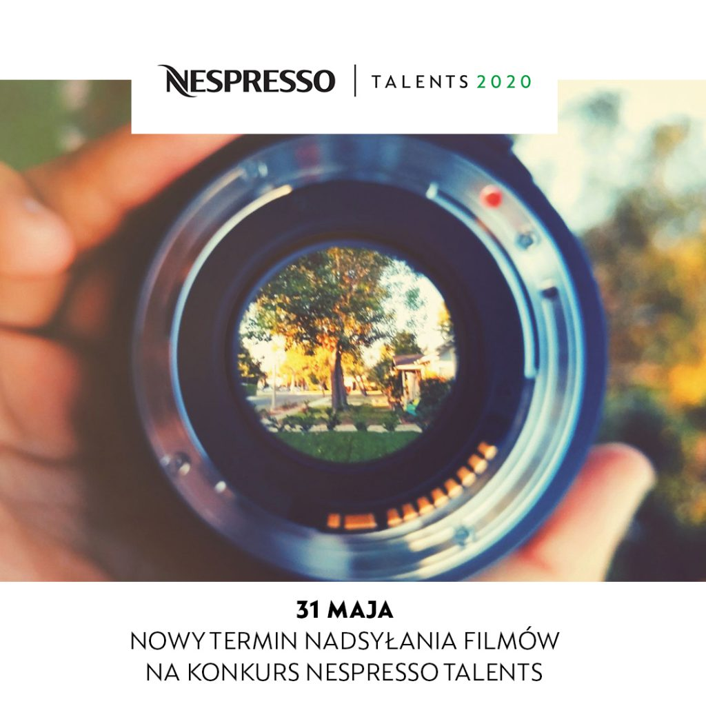 Nespresso Talents. Nowy termin nadysłania filmów na konkurs