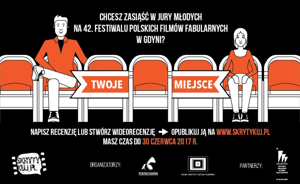 Festiwal Polskich Filmów Fabularnych w Gdyni czeka na młodych jurorów!