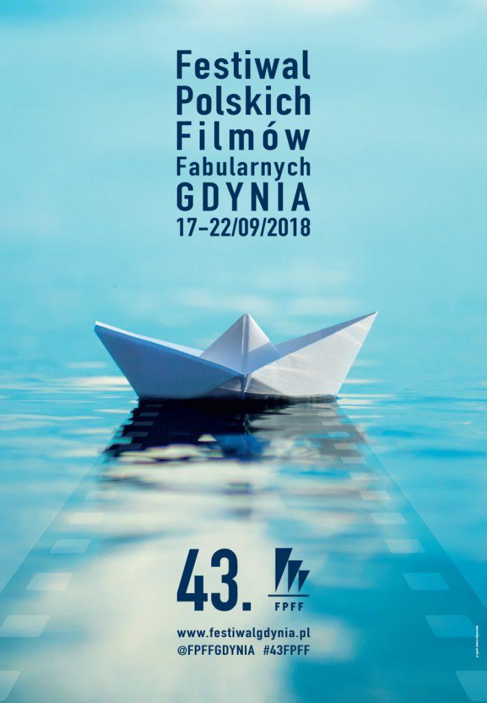 Plakat 43. Festiwalu Polskich Filmów Fabularnych