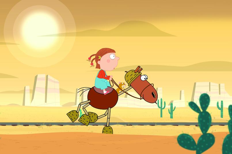 Agatha and the Cactus