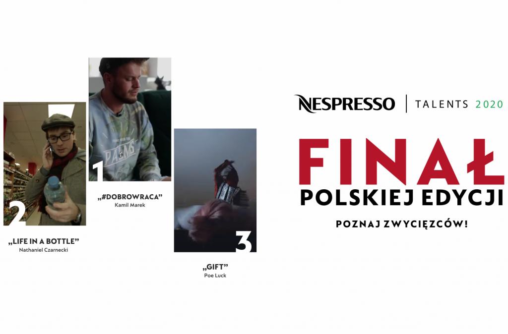 Znamy zwycięzców Nespresso Talents 2020