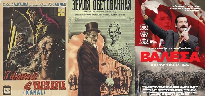 Filmy Andrzeja Wajdy w światowym plakacie filmowym