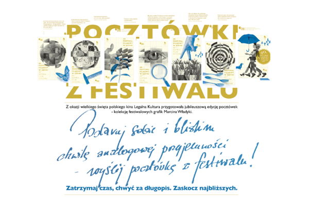 Send a traditional postcard from the Festival!