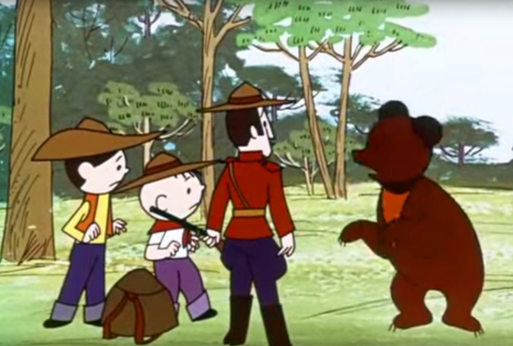W puszczach Kanady (seria: Bolek i Lolek wyruszają w świat)