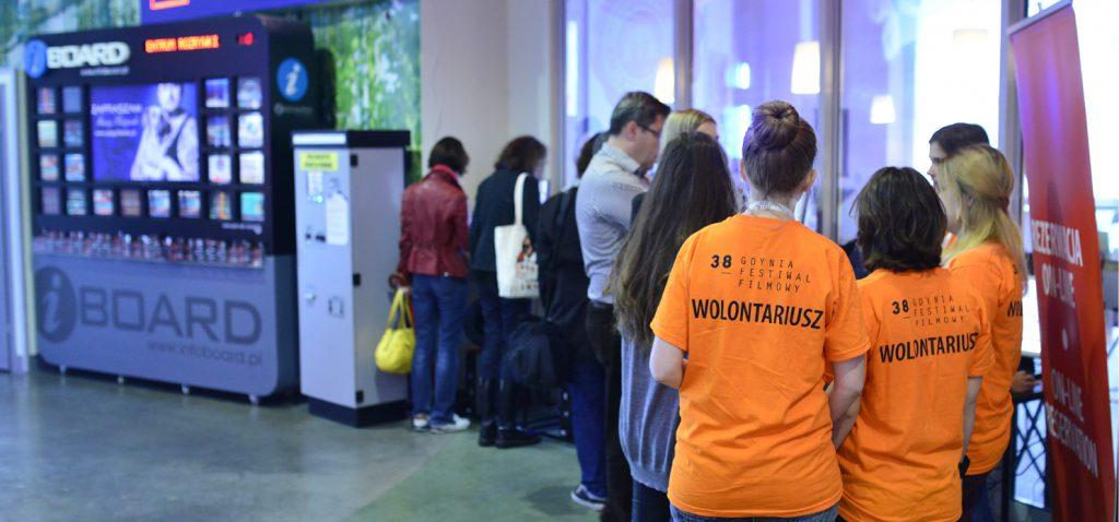 Zostań wolontariuszem 39. Festiwalu Filmowego w Gdyni