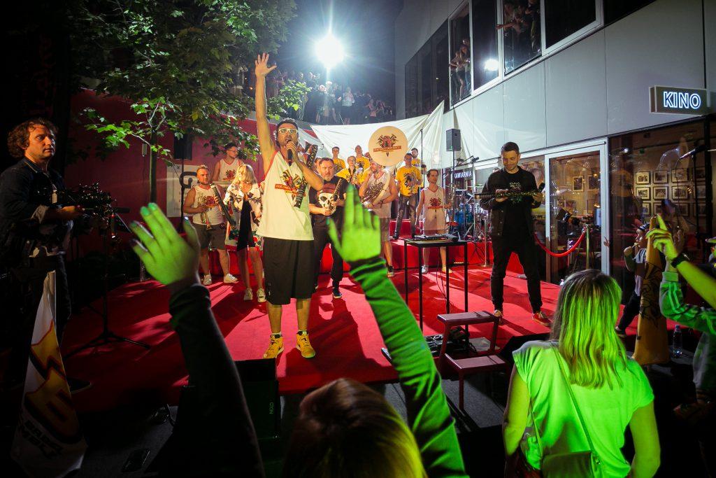 Rebel Babel Film Orchestra & GSF On Stairs feat. Kumorek, Dereszowska