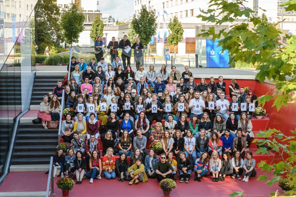 The 46<sup>th</sup> Polish Film Festival volunteers