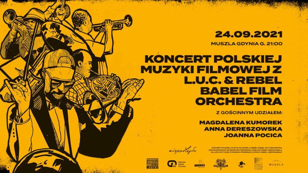 Polish film music concert with Rebel Babel Film Orchestra